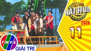 Cặp đôi hài hước Mùa 3 - Tập 11: Chuyện tình cướp biển - Cẩm Hò, Đình Lộc
