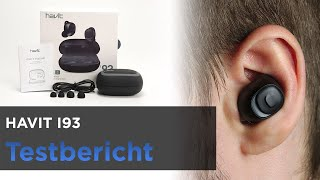HAVIT i93 im Test - TWS Bluetooth-Kopfhörer In-Ear mit Ladeschale, Powerbankfunktion