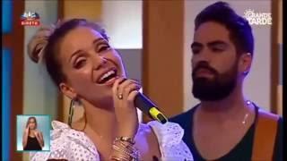 Luciana Abreu e Daniel Santacruz - programa Grande Tarde (14/07/2016)