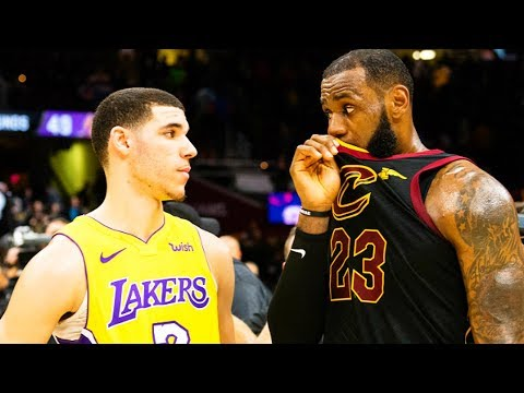 LeBron James Talks Joining Lakers with Lonzo Ball (What LeBron James Said to Lonzo Ball) Parody