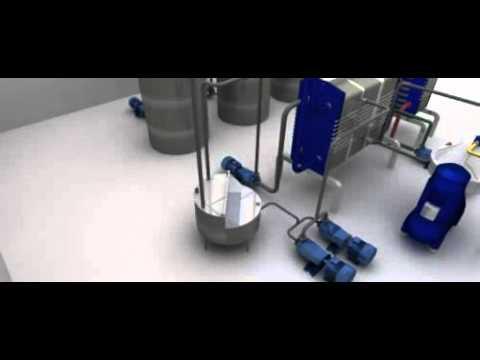 Virtual Plant : centrífuga