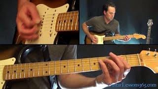 The Final Countdown Guitar Lesson - Europe - Chords/Rhythms