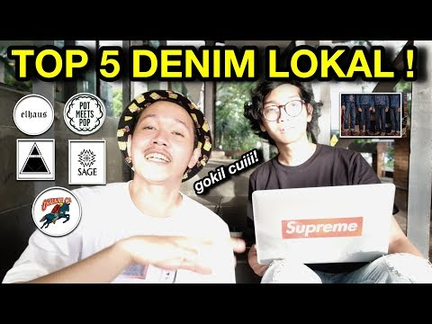 #LOCALPRIDE : 5 INDONESIAN DENIM BRANDS!