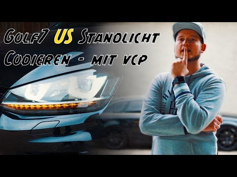 US Standlicht Codieren VW Golf 7 R mit VCP / VCDS