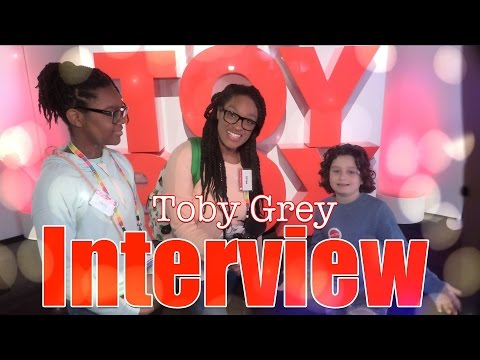 The Frog Vlog: Toby Grey Interview from ABC's The Toy Box | American Girl Tenney & Logan