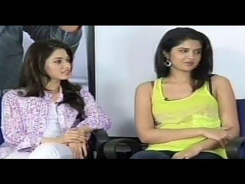 Tamannaah and Deeksha Seth interview about Rebel Part 1