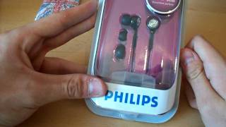 Unboxing: Philips SHE 8500 In-Ear Seal Kopfhörer