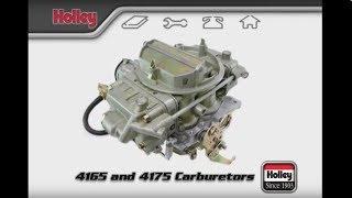 4165 & 4175 Carburetors