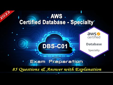 AWS DBS-C01 | AWS Certified Database - Specialty - Exam ...