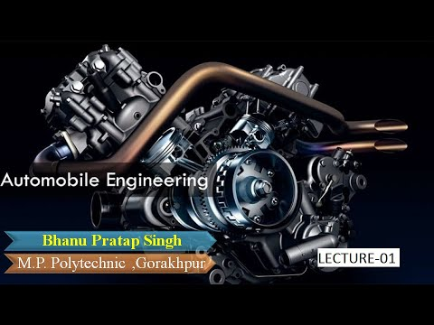 AUTOMOBILE ENGINEERING (LECTURE-01)