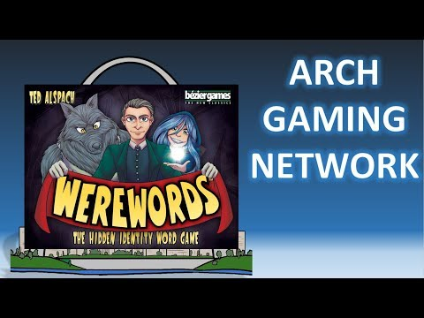 Review: Werewords w/Setup, Tutorial, and silly opener