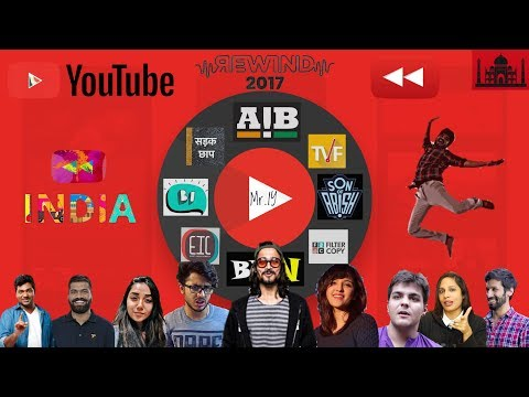 YouTube India Rewind 2017 | Mr IY ft. BB Ki Vines AIB TVF | Indian Youtubers in YouTubeRewind 2017
