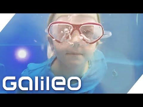 Ein Container wird zum Swimming-Pool | Galileo | ProSieben