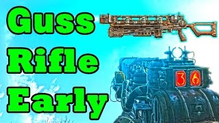 Fallout 4: Gauss Rifle Location Guide EARLY + AMMO (Rare Secret Weapons)