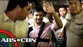 How ABS-CBN welcomed Pacquiao