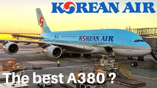 KOREAN AIR AIRBUS A380 (Economy)  | Paris - Seoul