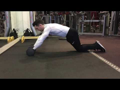 Dumbbell Ab Roll Out
