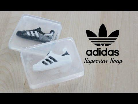 DIY Adidas Superstar Sneaker Soap + Mini Giveaway
