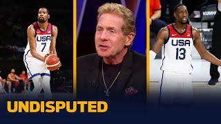KD and Bam Adebayo have scuffle at Team USA photoshoot - Skip & Shannon I NBA I UNDISPUTED