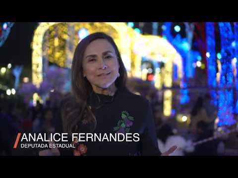 Deputada Estadual Analice Fernandes deseja um Feliz Natal para Toda População