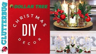 DIY Dollar Tree Christmas Decor Ideas - Easy Centerpiece