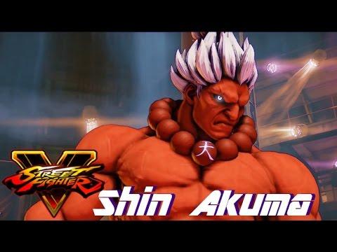 Street Fighter 5 mods CvS 2 Shin Akuma (color mod