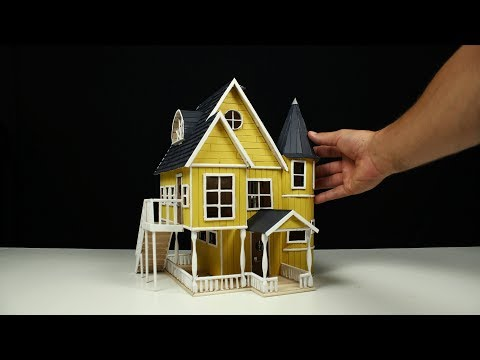 How to Build a Popsicle Stick House