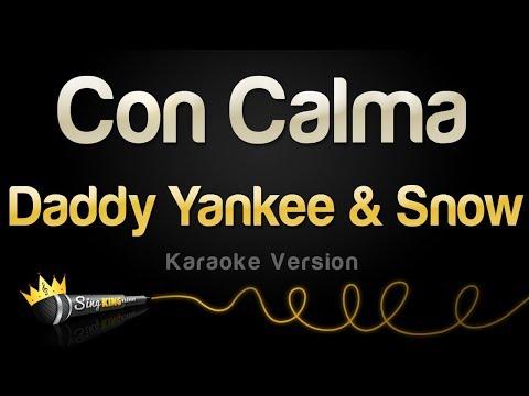 Daddy Yankee & Snow - Con Calma (Karaoke Version)