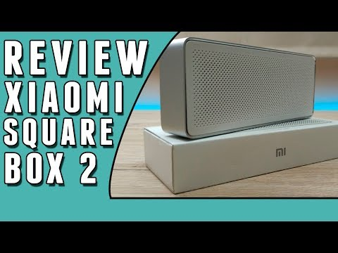 Review da caixa de som Xiaomi Square Box 2  https: