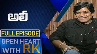 Actor Ali | Open heart with RK | Full Episode | ABN Telugu