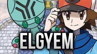 Elgyem  - (Pokémon) - Pokemon White - Part 26 - Elgyem!