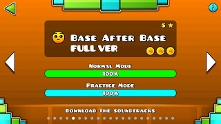 Geometry Dash - Base After Base (FULL VER) All Coin / ♬ Partition