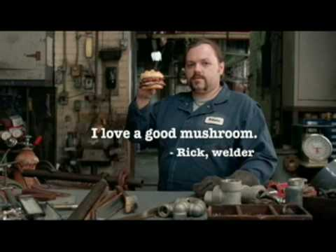 Wendy's Commercial for Wendy's Gourmet Mushroom Swissburger (2008) (Television Commercial)