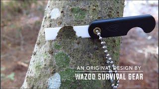 Mini Ceramic Folding Razor Blade