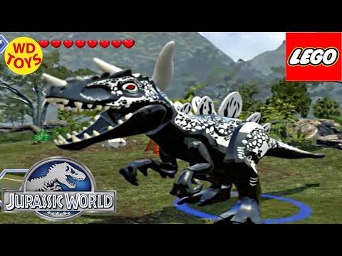 Jurassic World Lego Game Hybrid Spinosaurus (Captain America