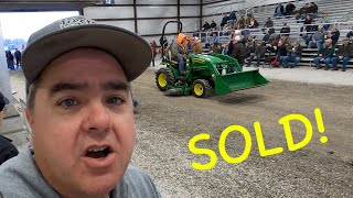 Tractor and Equipment Auction!
