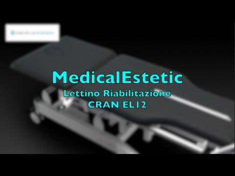 CRAN Lettino riabilitazione basculante