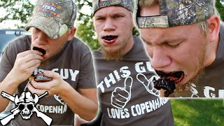 Full Can of Copenhagen Snuff CHALLENGE!!!
