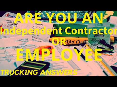 1099 or employee? Truckers are misclassified