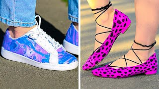 30 WAYS TO UPGRADE YOUR OLD SHOES FOR SUMMER