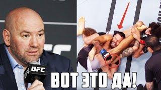 ЗАБИТ УДИВИЛ ВСЕХ СВОИМ СТРАННЫМ ПРИЕМОМ НА UFC 228 + РЕАКЦИЯ БОЙЦОВ ММА