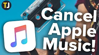 How to Cancel Your Apple Music Subscription!