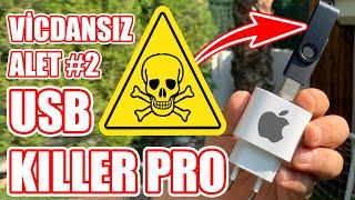 Vicdansız Alet #2: Takıldığı Her Şeyi Yakan USB Killer PRO'yu iPhone 11 Pro Adaptöründe Test Ettik