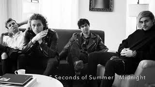 5 Seconds of Summer - Midnight [LYRIC VIDEO]