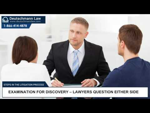 Steps in the Litigation Process