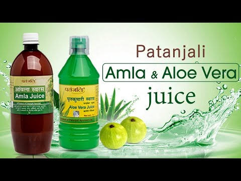 , title : 'Patanjali Aloe Vera And Amla Juice Review | Quick Weight Loss'
