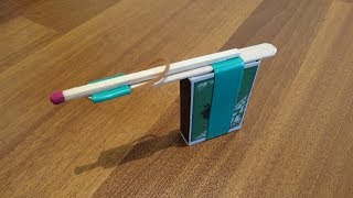 Top 3 Homemade Inventions from matches