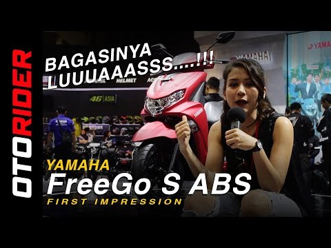 Yamaha Freego 2018 Indonesia | OtoRider