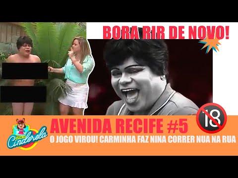 Avenida Recife: Carminha mostra quem é que manda e bota Nina pra correr nua pelas ruas - Ep. 5