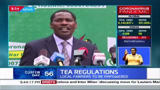 The Ministry of Agriculture outlines the final tea regulations set to govern the sector